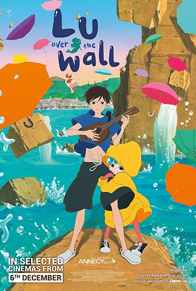 Lu over the Wall / Yoake tsugeru Rû no uta (2017) Kai
