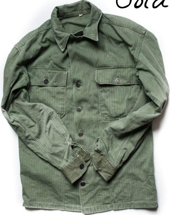 Men s Fashion · 1940 s US HBT Shirt Military Clothing c13a83a66