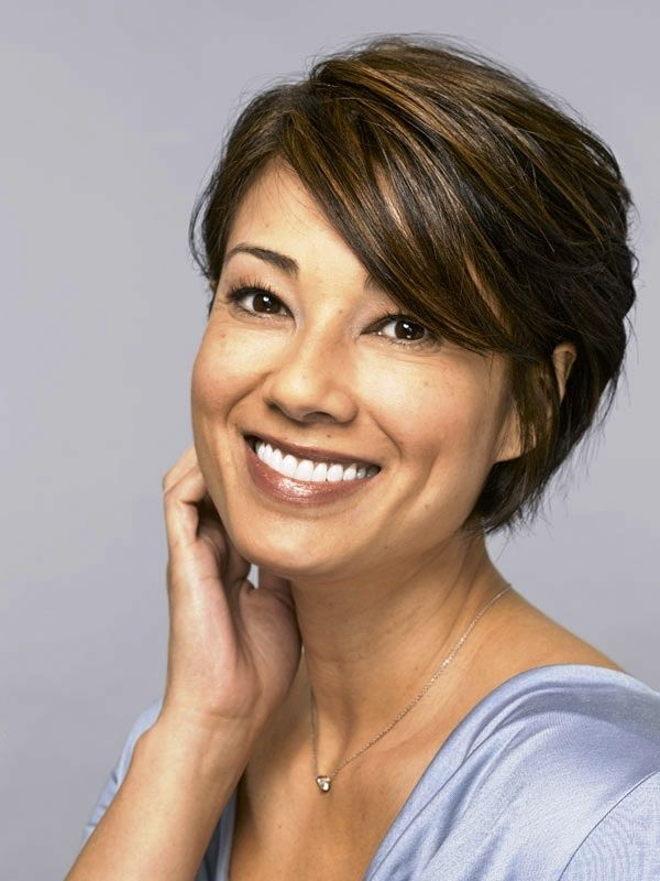 Short layered hairstyles for fine hair over 50 - Short hairstyles ...