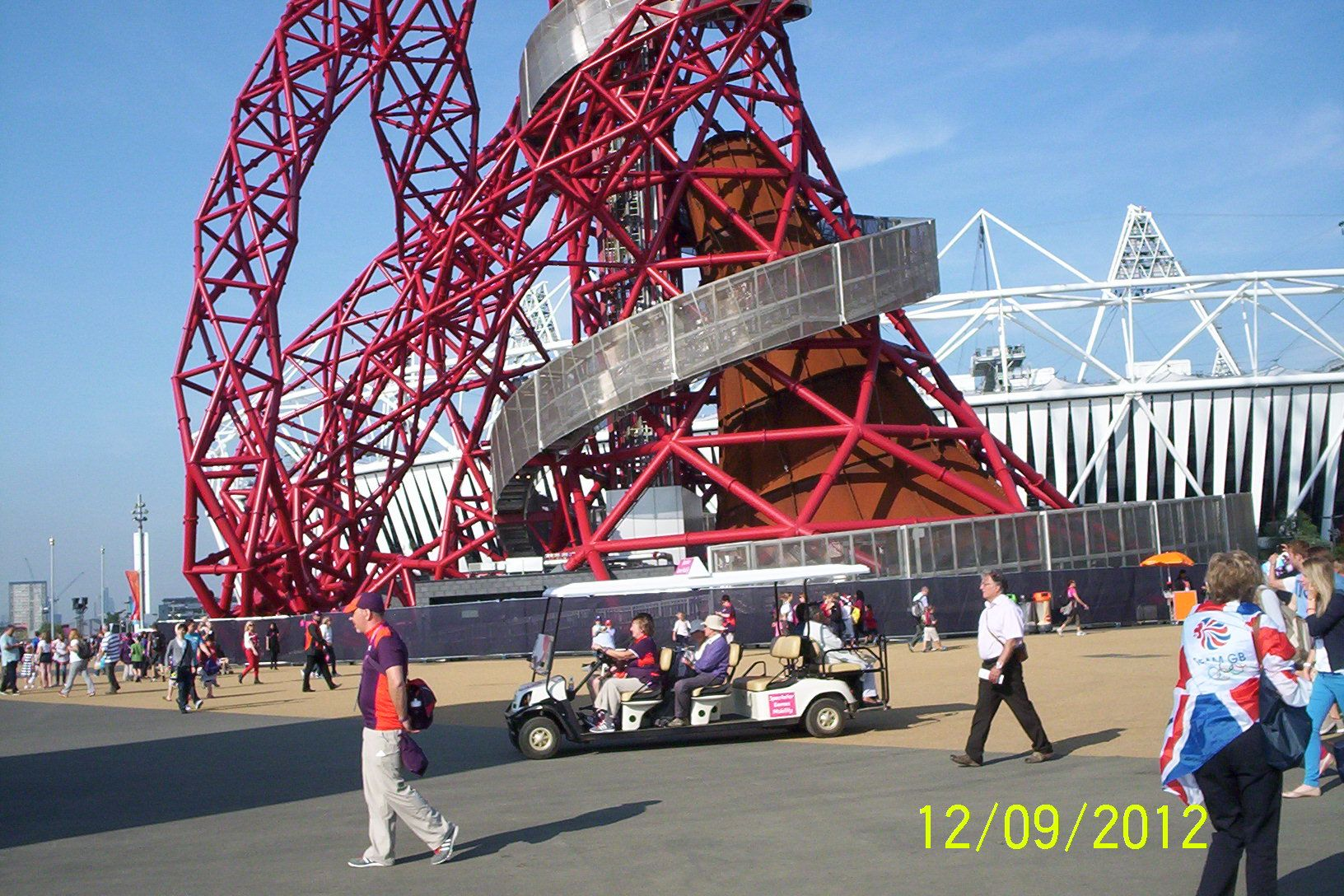 The Orbit and Olympic Stadium (Sept 3, 2012)