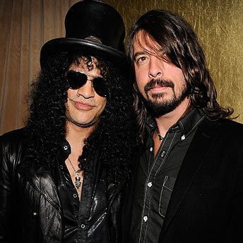 Slash and David Grohl <3