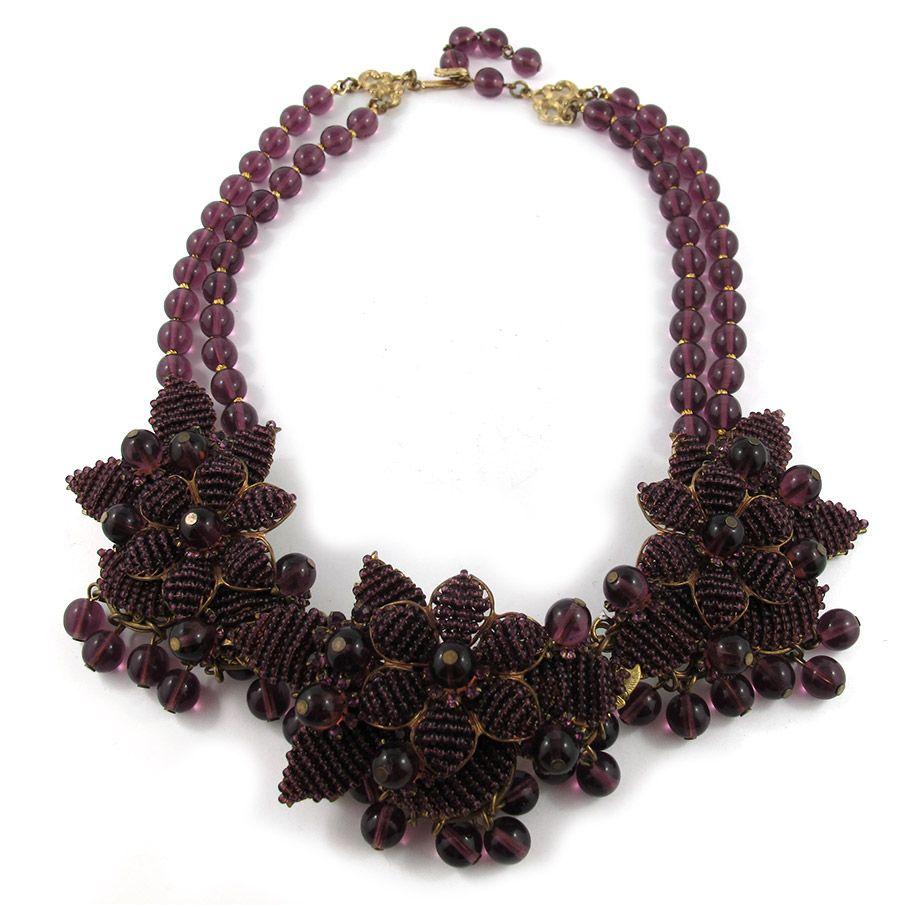 Vintage signed Stanley Hagler necklace c.1960 #stanleyhagler #vintagejewellery #jewellery