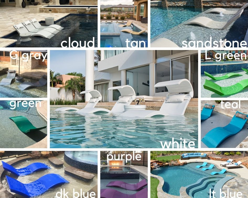 Ledge Lounger 2 In Pool Chaises For Tanning Shelf Ledge Lounger Pool Chaise Lounger