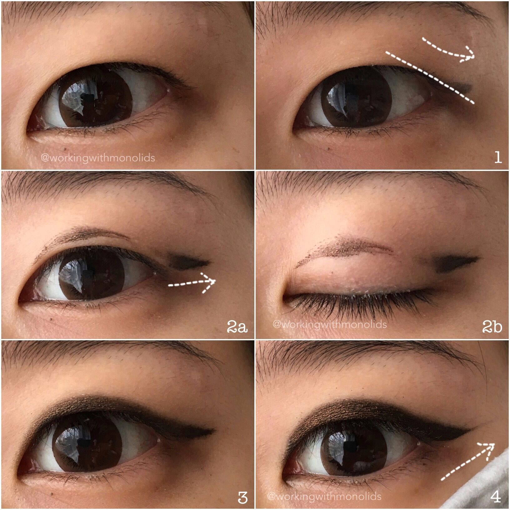 Tutorial Eyeliner for Hooded Monolids / Single Eyelids