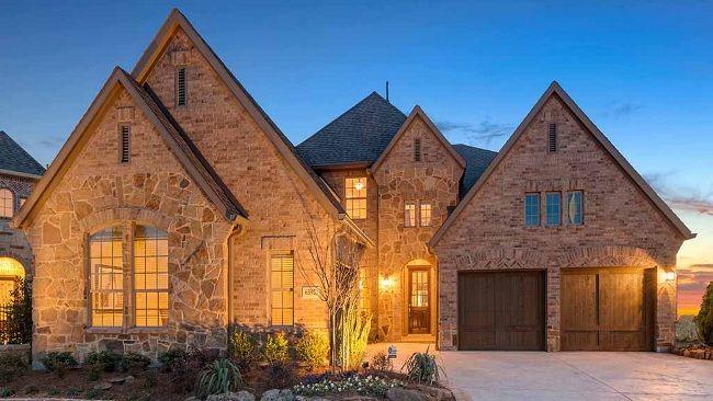 Darling Homes in Phillips Creek Ranch. Courtesy if Natasha T. Briggs, Realtor-Farrier & Associates 214.732.4512