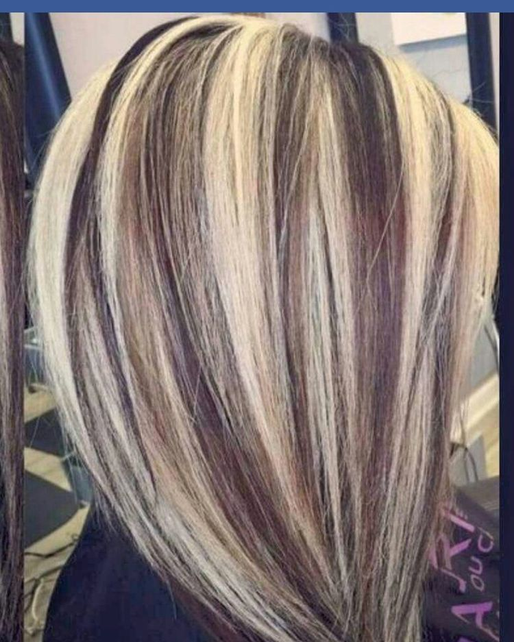 I dont like this aaa new hair pinterest coifure couleurs de cheveux et m ches - Coiffure meches blondes et chocolat ...