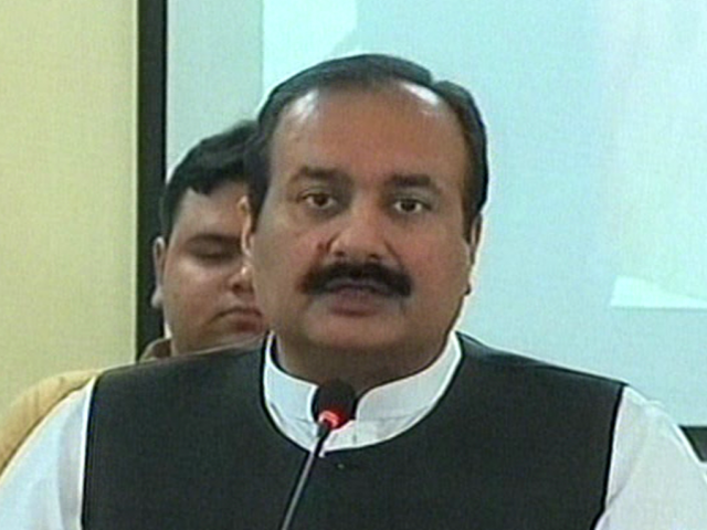 Rana Mashhood asks opposition parties to stop 'playing politics over the dead'