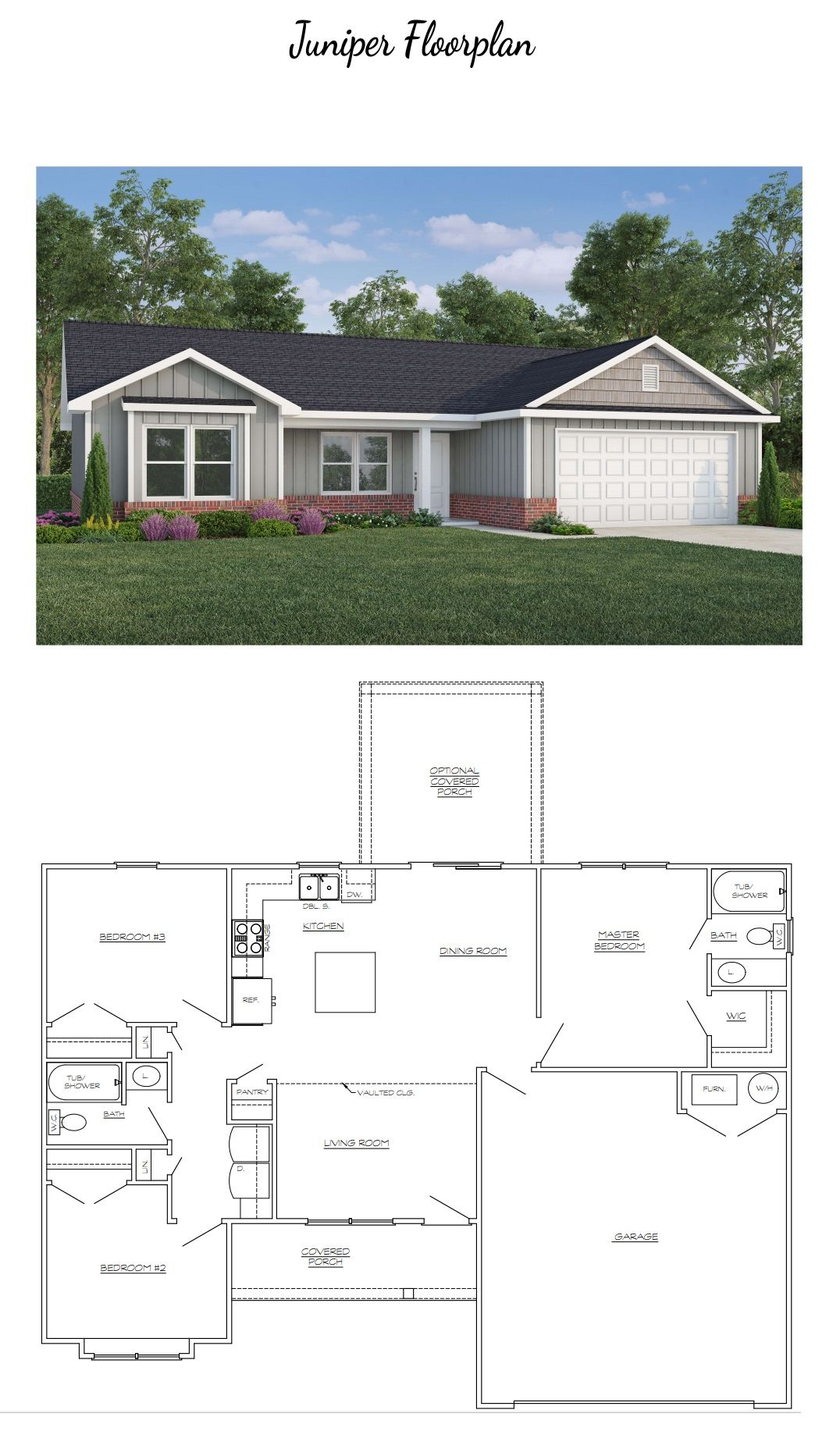 Juniper Floorplan Floor Plans House Floor Plans New Homes