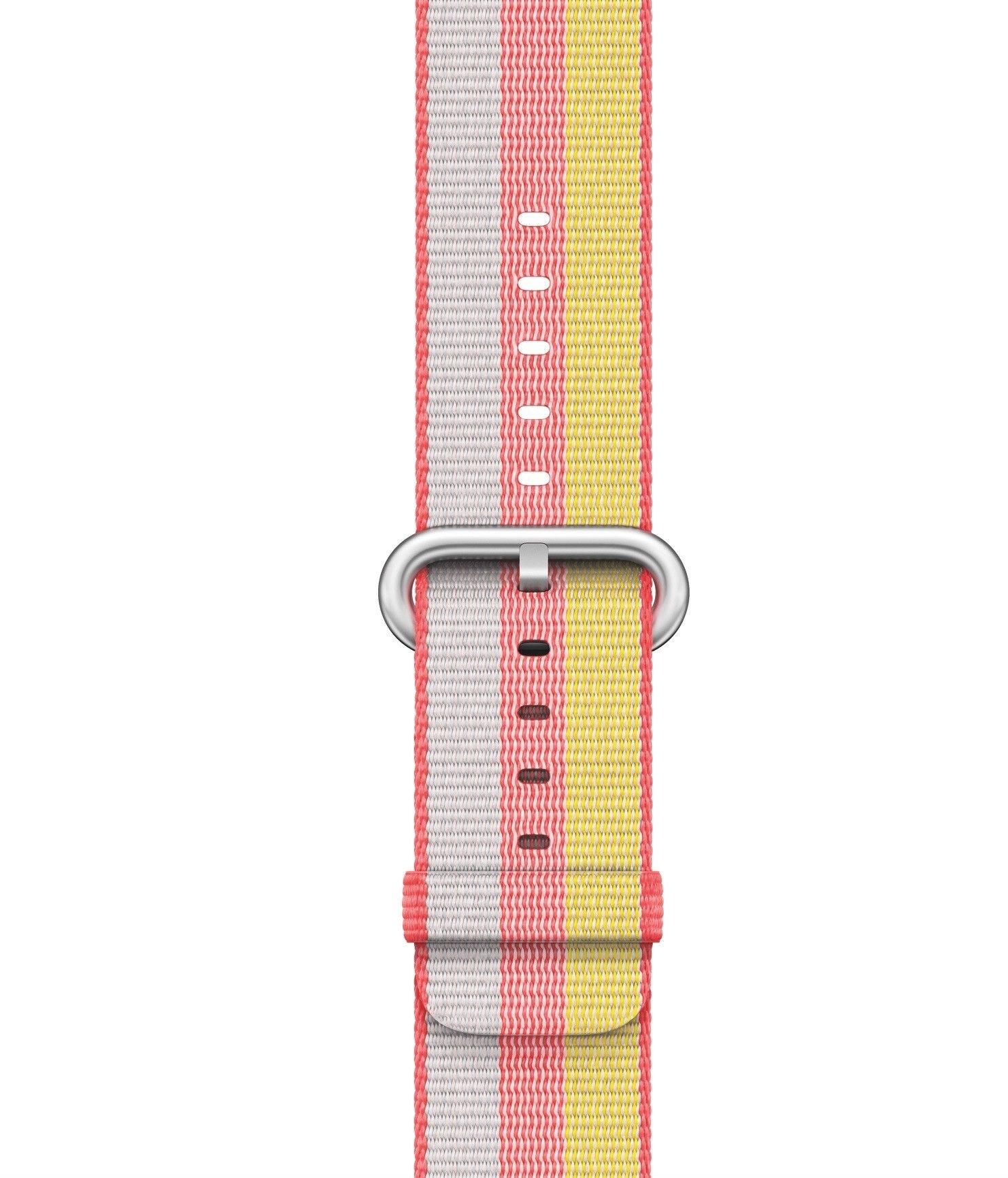 Apple Watch bandje van geweven nylon rood  SHOP ONLINE: https://www.purelifestyle.be/apple-watch-bandje-van-geweven-nylon-rood.html