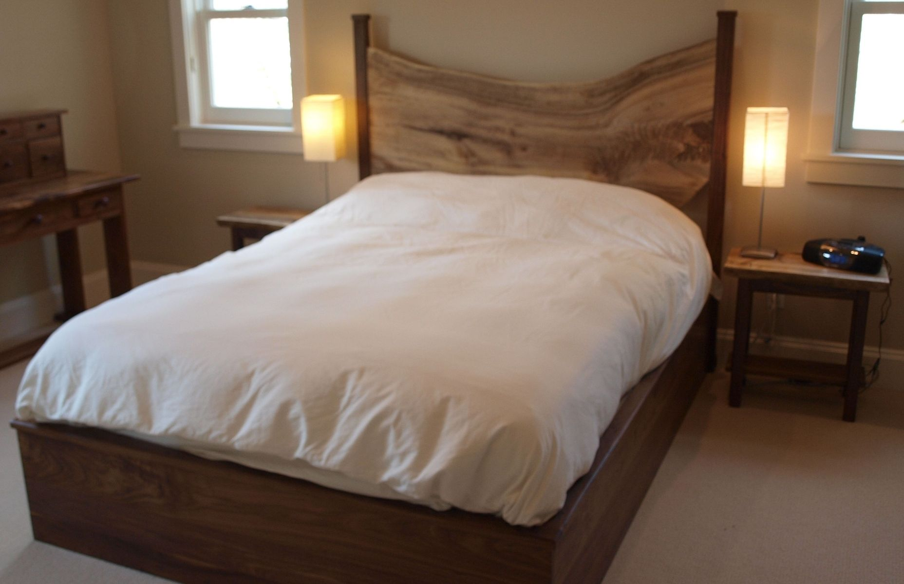 Live edge bed from custommade our bedroom pinterest