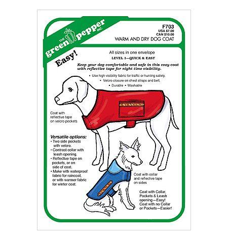 Warm And Dry Dog Coat Dog Coat Pattern Large Dog Coats Dog Coats