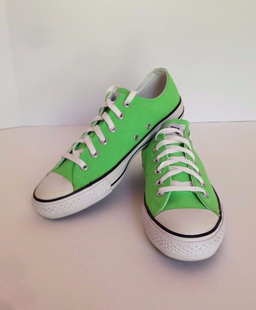 the best 843aa 1360f Converse All Star Chuck Taylor Shoes Sneakers Apple  Green NWOT Size Mens ... 4cf6fe6b1