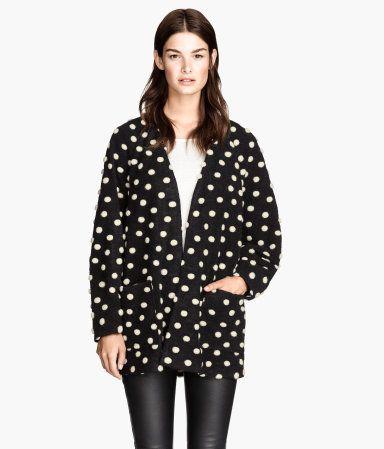 H&M 도트 패턴 재킷 ₩89,000