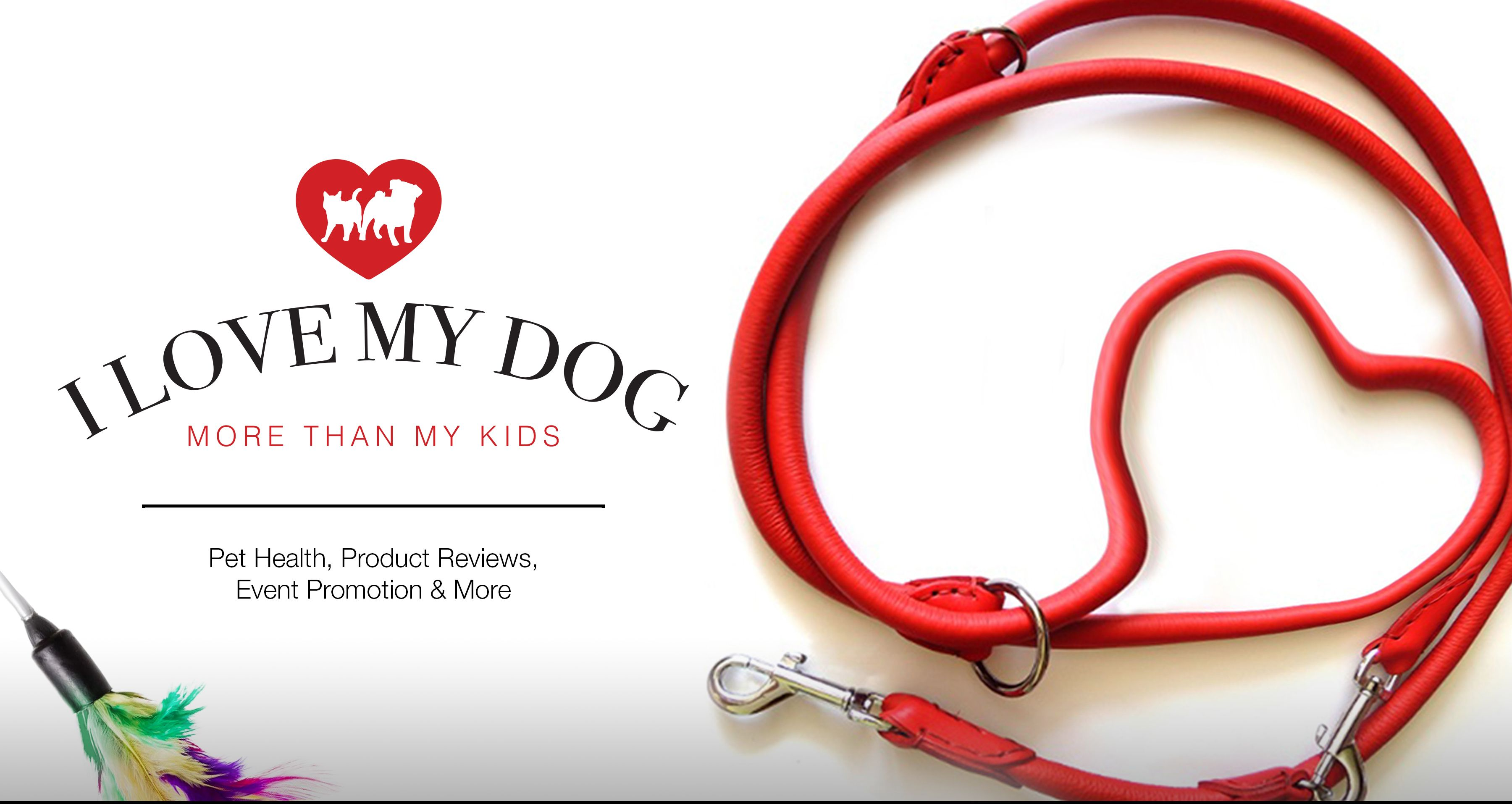 ILoveMyDogMoreThanMyKids.com We're about Pet Health, Product Reviews, and Pet Event Promotion. Connect with us to see what we can do to help promote your Pet Business, Pet Products and Events