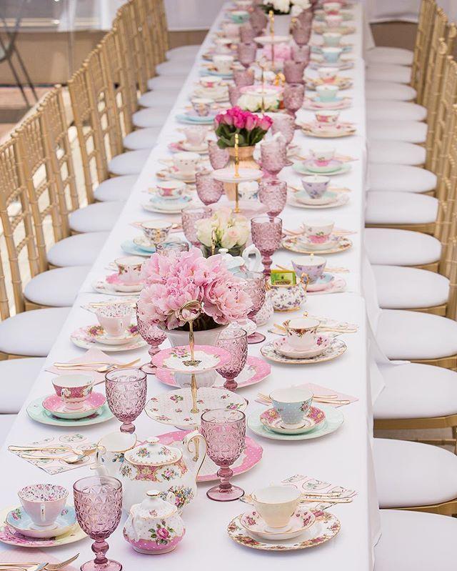Danielle S High Tea Kitchen Tea Styling Stylish Events Weddings
