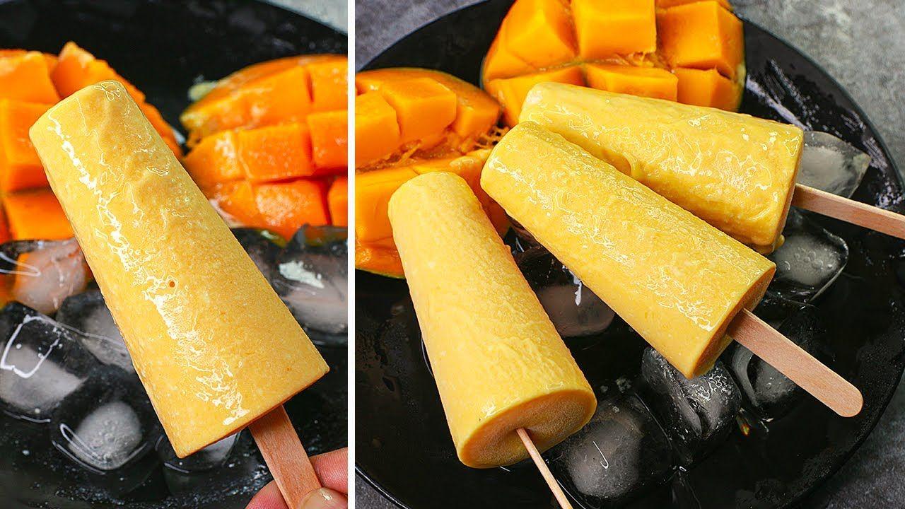 3 Ingredients Mango Kulfi In Lock Down No Cream No Condensed Milk Mango Kulfi Recipe Yummy Youtube In 2020 Kulfi Recipe Mango Kulfi Malai Kulfi Recipe