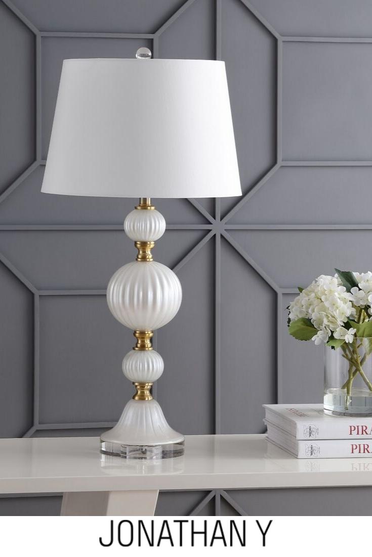 Jyl2069a Bedroom Decor Lights White Table Lamp Bedroom Ceiling