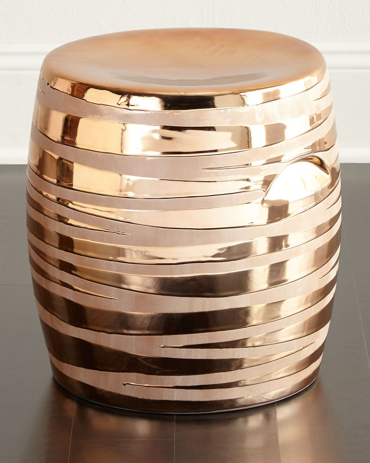 Shop Copper Metallic Garden Stool At Horchow, Where Youu0027ll Find New Lower  Shipping On Hundreds Of Home Furnishings And Gifts.