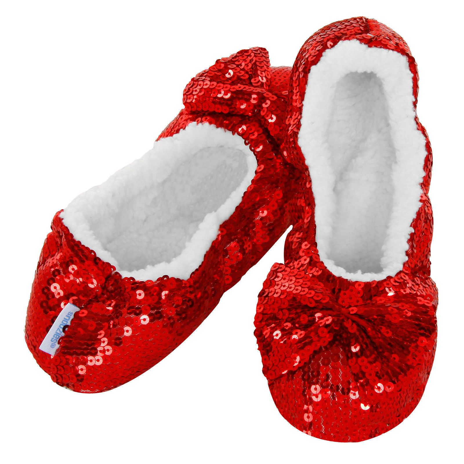 4e3dbe9f70419 Rudolph Snoozies - Red. Rudolph Snoozies - Red Slippers For Girls