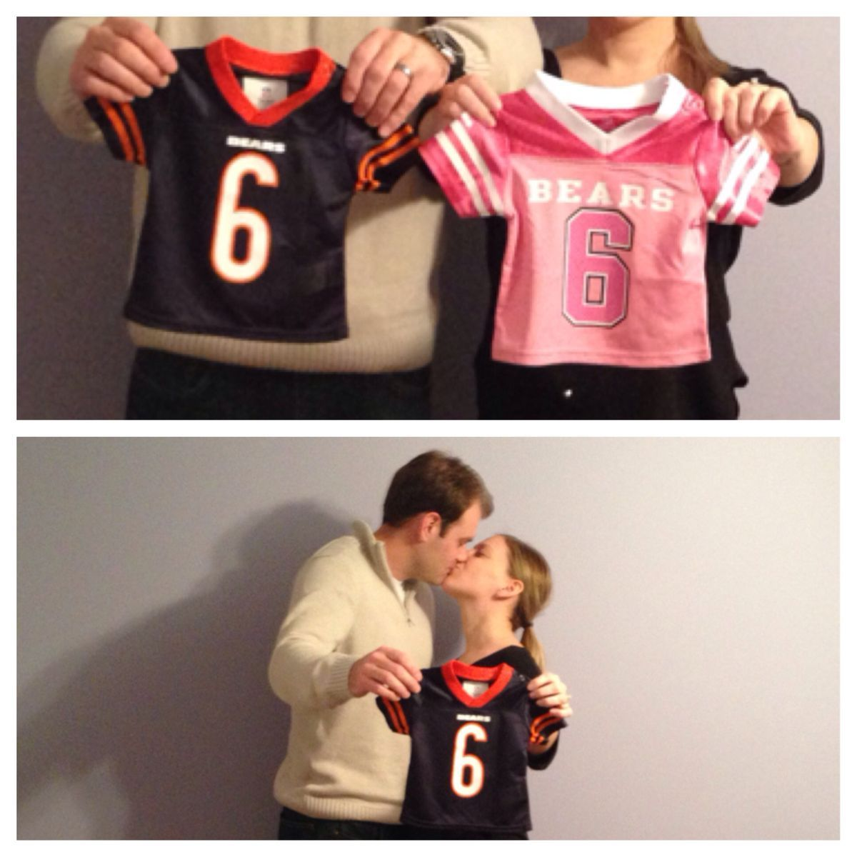 gender reveal football jerseys