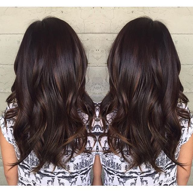 Dark chocolate with a subtle lift. Color by  jackss   hair    haircolor e728126304