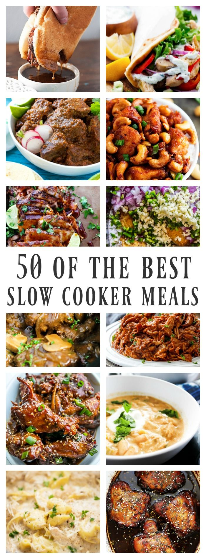 50 Of The Best Slow Cooker Meals Crockpot Creations Slow Cooker