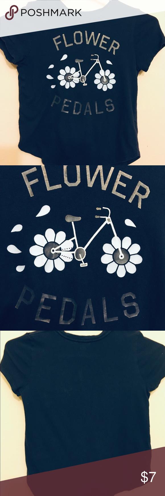 GIRLS NAVY BLUE FLIWER PEDALS T-SHIRT SWEET GIRLS OLD BAVY NAVY BLUE FLOWER PEDA...#bavy #blue #fliwer #flower #girls #navy #peda #pedals #sweet #tshirt