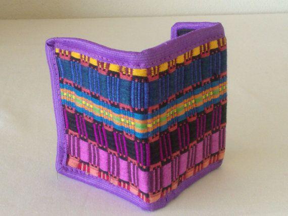 Mexican Woven Wallet Folk Fabric Wallet. by MXArtsCrafts on Etsy