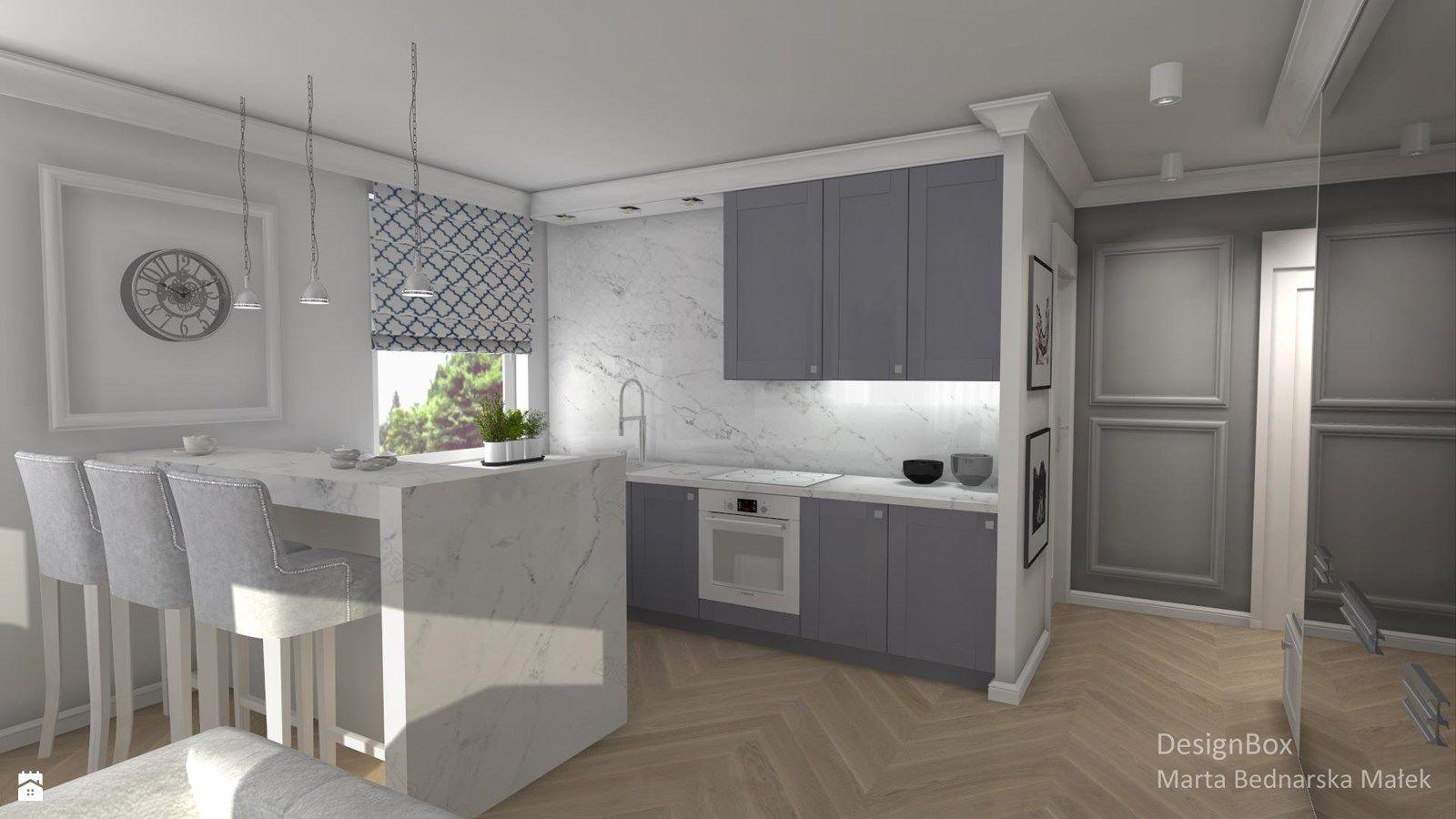 kuchnia styl nowojorski zdja cie od designbox marta bednarska maa ek