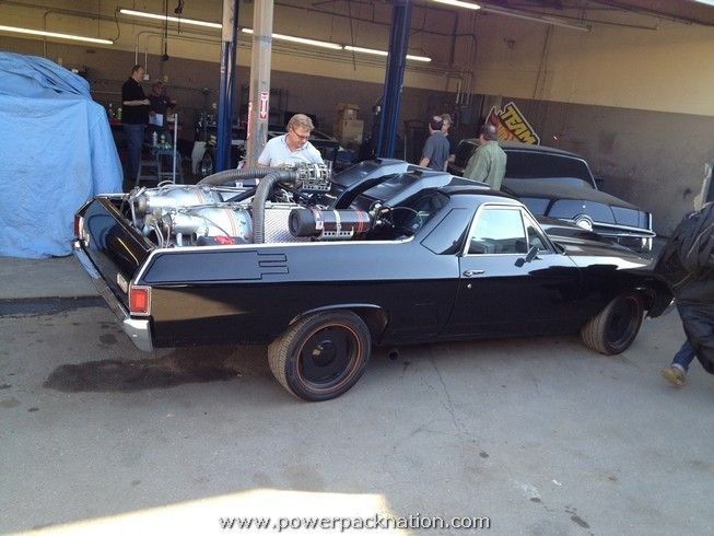 Slightly Modified Chevrolet El Camino At The Picture Car Warehouse