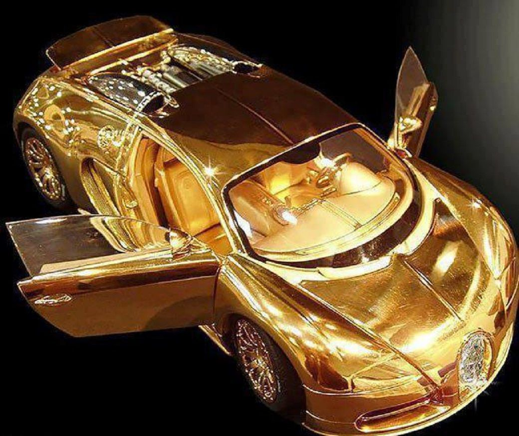 World Most Expensive Car Gold Bugatti Veryon Most Expensive Car Bugatti Veyron Bugatti