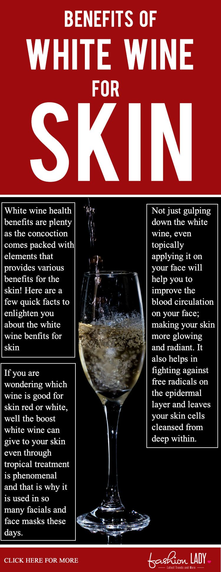 Benefits Of White Wine For Skin White Wine Wine Wine Benefits