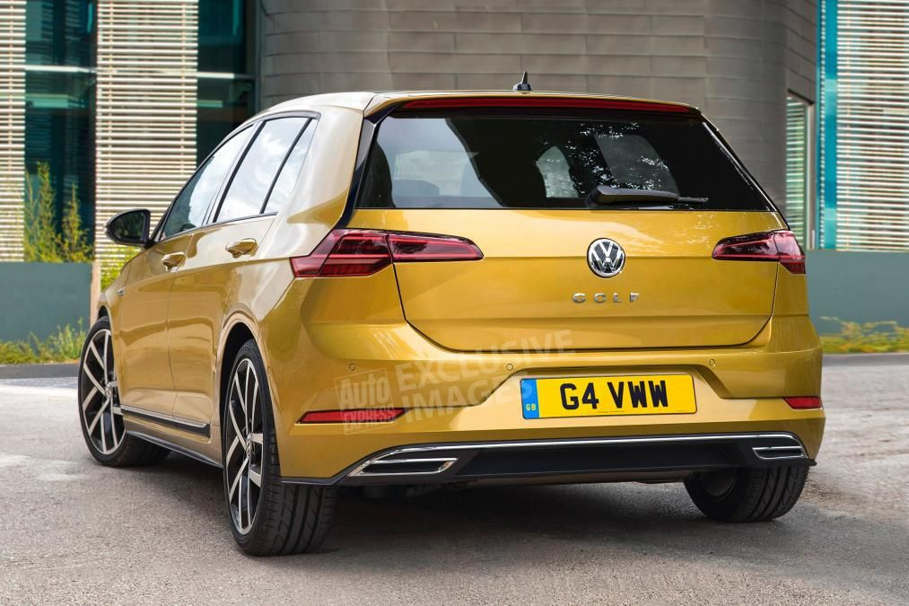 Volkswagen Golf Mk8 Rear Exclusive Image Volkswagen Classic