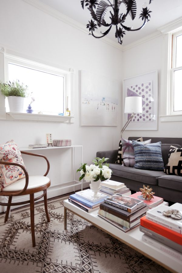 Inspired by this small living room The