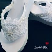 Flip Flops  Wedges Bridal Flip Flops Sandals for Bride Shoes for Bride  Gifts fo Wedding Flip Flops  Wedges Bridal Flip Flops Sandals for Bride Shoes for Bride  Gifts for...