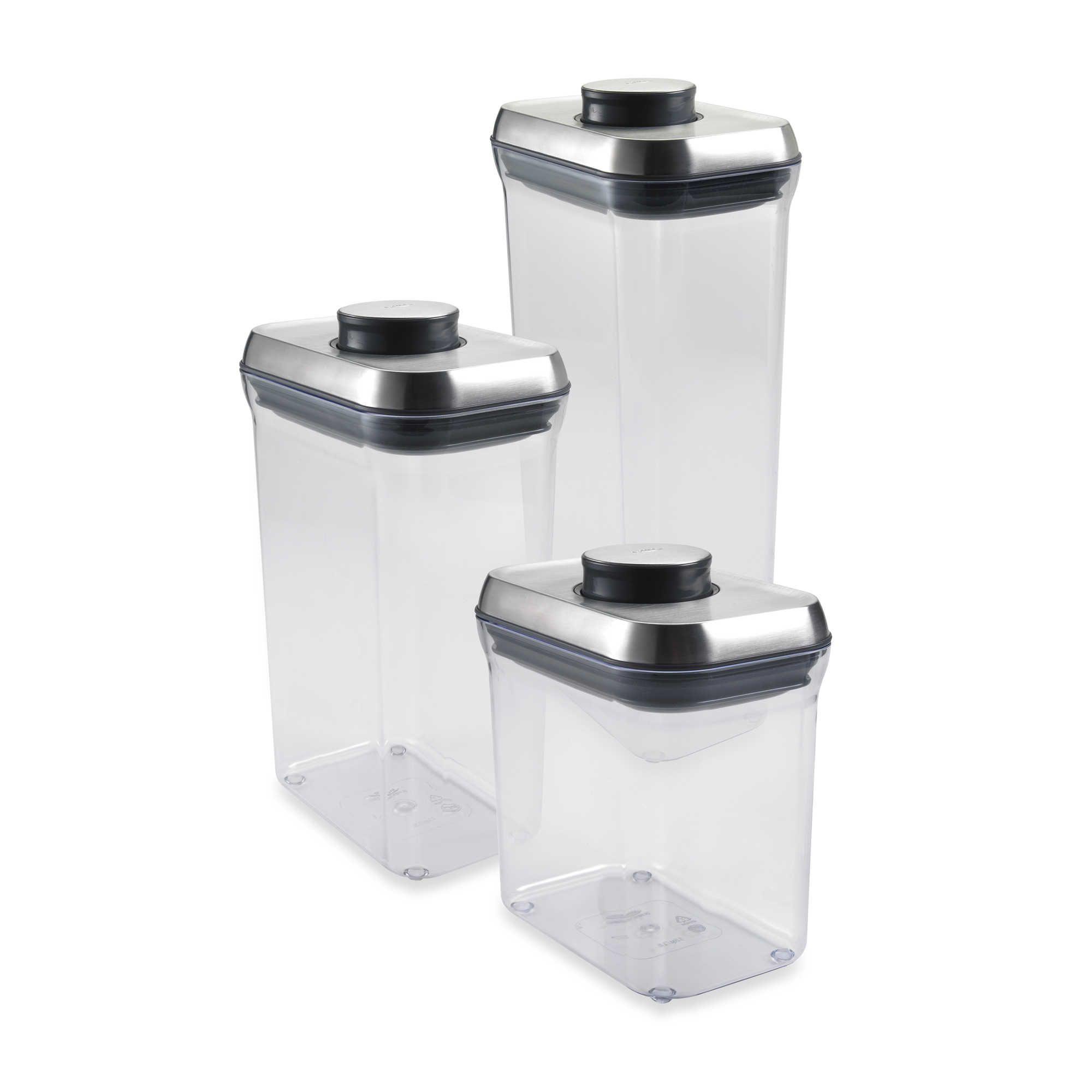 Oxo Steel Pop Rectangular Food Storage Container Food