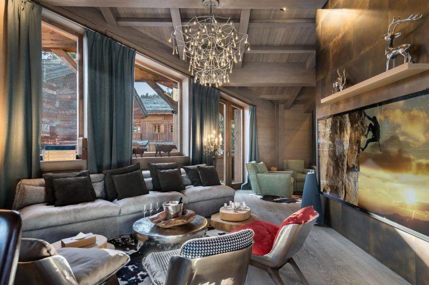 Luxuri ste atemberaubendste chalets der alpen luxus orte lifestyle - Alpen dekoration ...