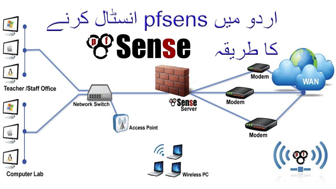 how to installation and configuration pfsense 2 3 2 prt1 in urdu pfsen  [ 1280 x 720 Pixel ]
