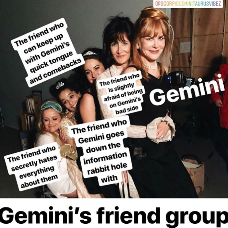 17 Gemini Memes That Totally Describe All Your Gemini Friends Gemini Gemini Season Famous Geminis