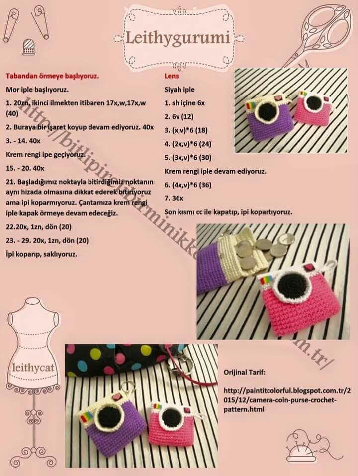 Pin de Lu Ee Lim en Crochet Crafts | Pinterest | Llaveros, Llaveros ...