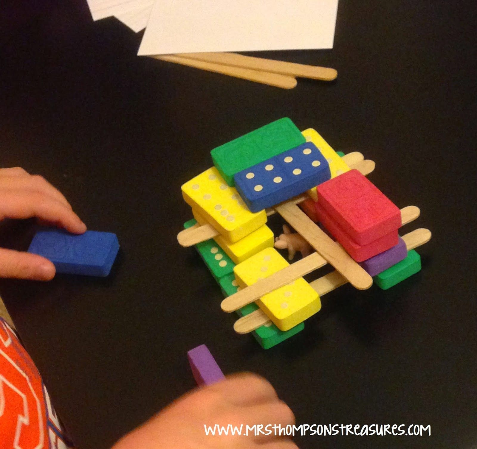 Three Little Pigs Stem Challenge Projects