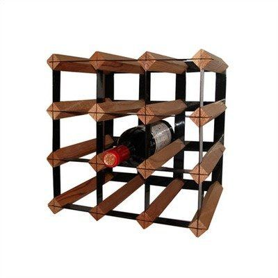 Cellar Trellis 12 Bottle Tabletop Wine Rack By Vinotemp 54 60 Color Brown Size 11 H X 11 W X 10 63 D Rack 12ct Features Wood And P Vin Cellier Collant