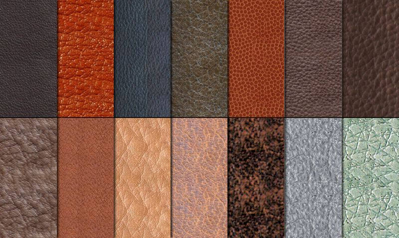 Types Of Leather Wild Tussah Distinguish Between Leather Projects Leather