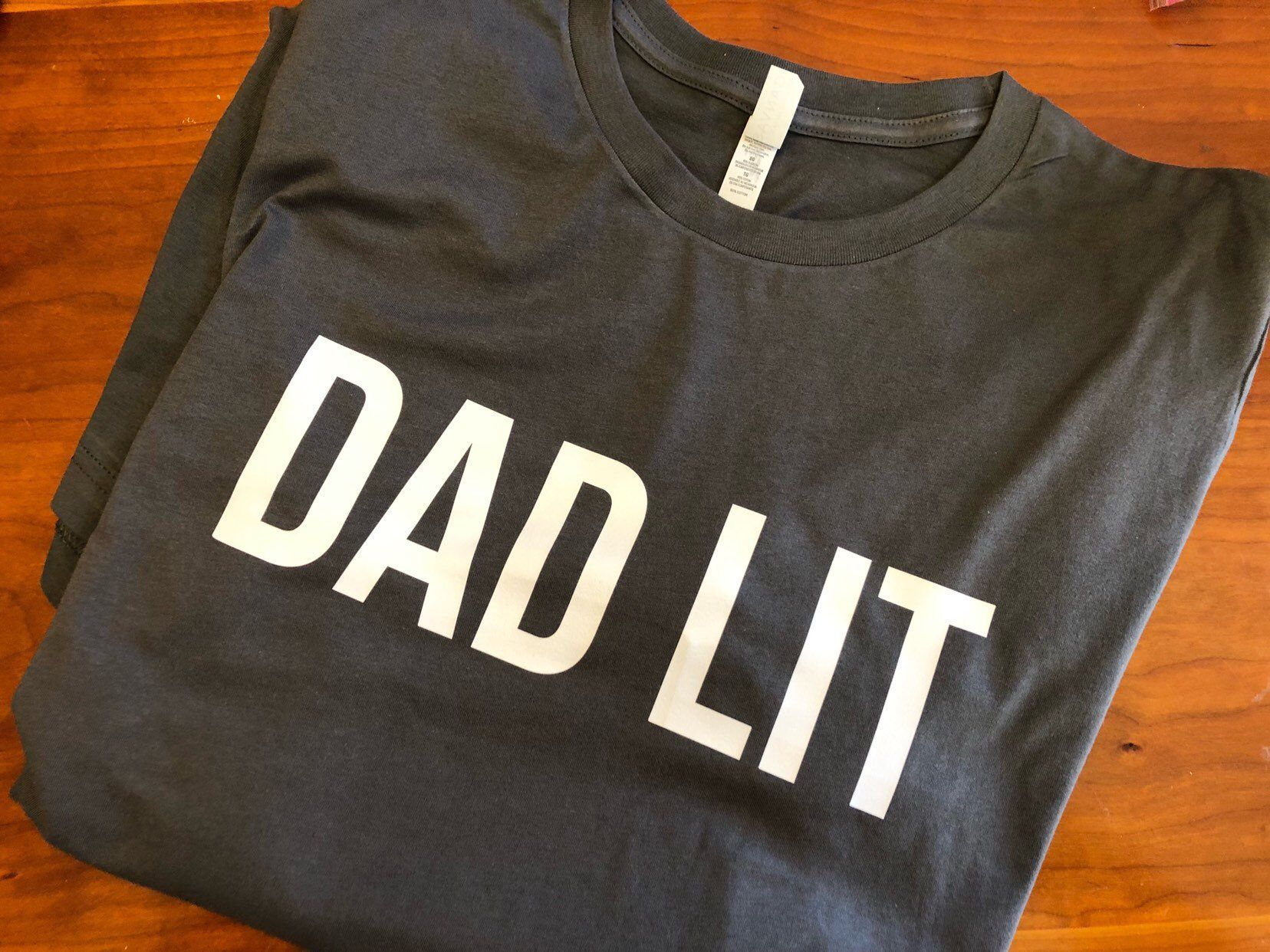 7c210d33d Excited to share this item from my #etsy shop: Dad lit. Gift for him.  Father's Day gift. Father gift. Dad gift. Uncle gift. T-shirt.