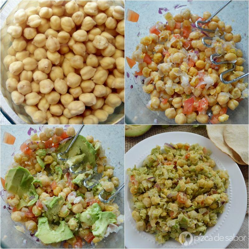Ensalada De Garbanzos Con Aguacate Fácil Y Rápida Food Healthy Recipes Recipes