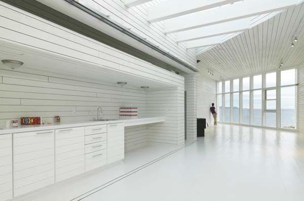 Fogo Island Studio 7 Impressive Architectural Studio Overwhelms the Astonishing Landscape