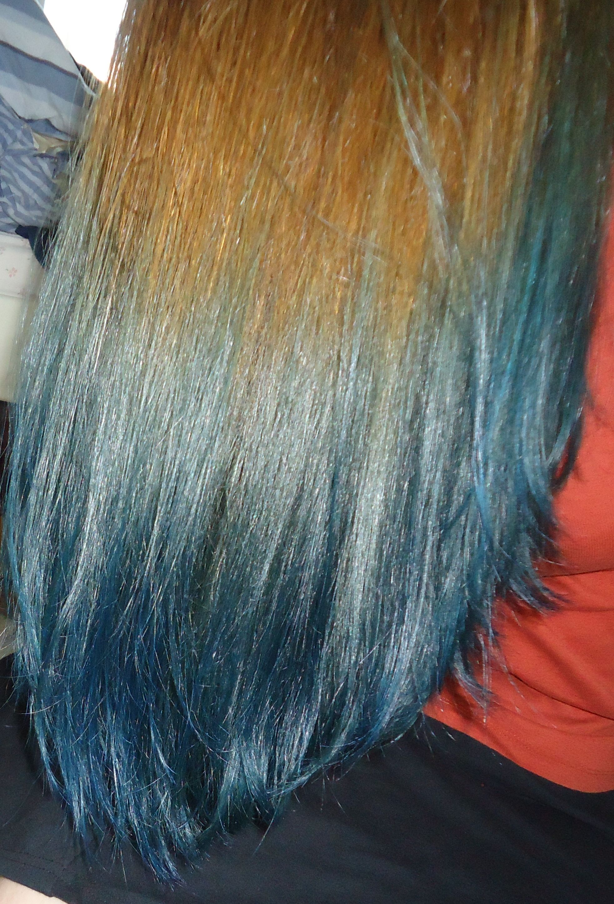 Blue Ombre With Directions Atlantic Blue Without Bleaching My