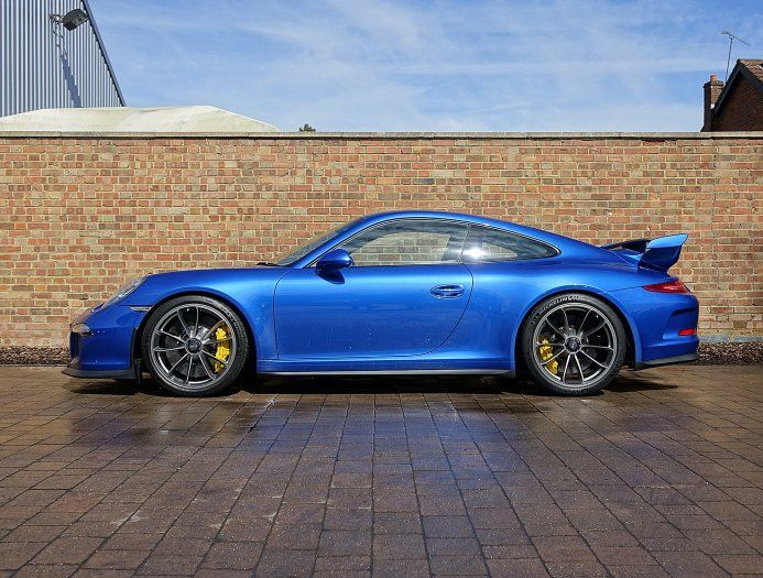 2014 64 porsche 911 991 gt3 for sale sapphire blue. Black Bedroom Furniture Sets. Home Design Ideas