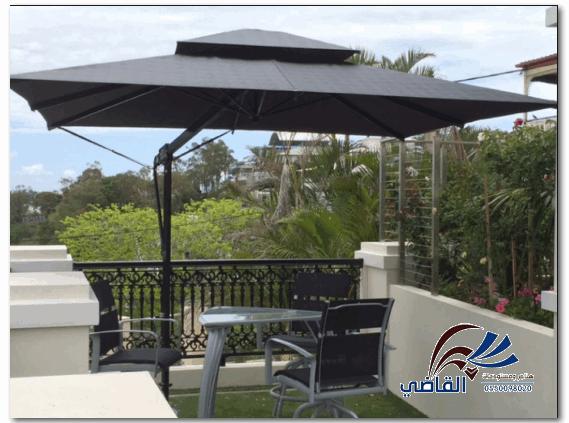 أسعار مظلات الحدائق 0550098020 مستودعات وهناجر القاضي Patio Umbrella Outdoor Decor Patio