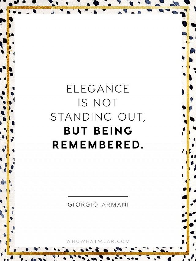 The Crucial Quotes Every Fashion Girl Should Know | Fashion